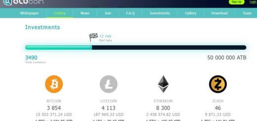 Стартап американской криптовалюты ATB coin привлек более $18 млн на ICO