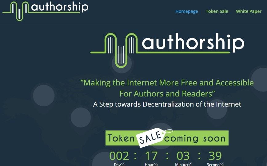 Authorship ICO