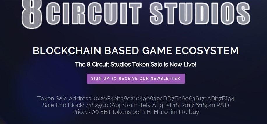 8 Circuit Studios ICO