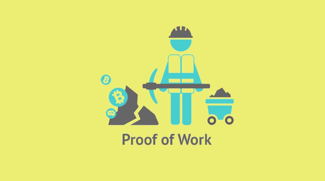 Доказательство работы или proof-of-work