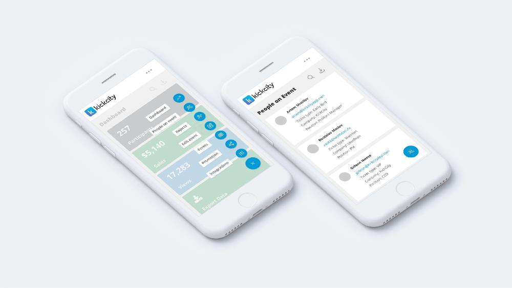 KickCity приложение