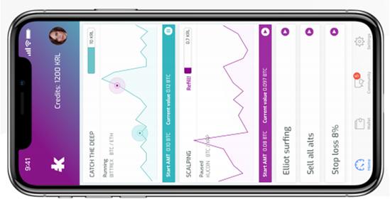 Мобильное приложение Kryll