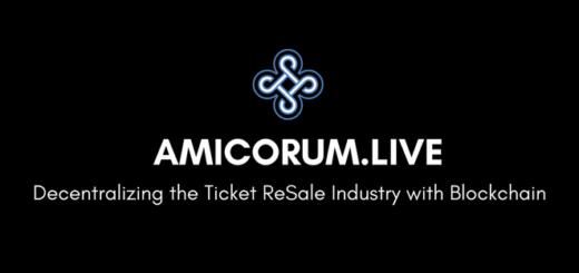 Обзор Amicorum.Live ICO — децентрализация индустрии перепродажи билетов