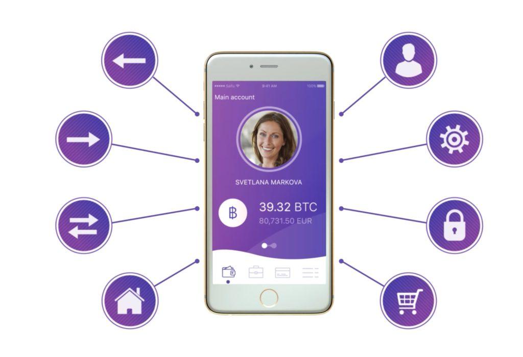 Мобильный интерфейс Saifu