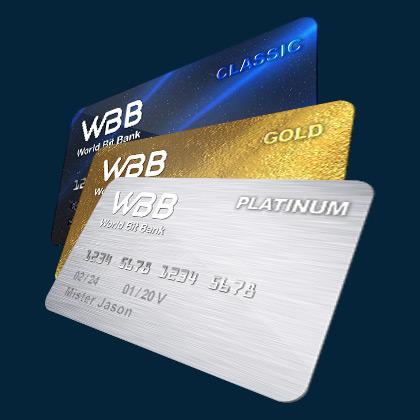 Дебетовые карты World Bit bank