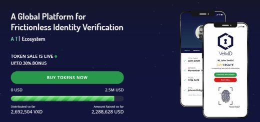 Velix.ID — глобальная система идентификации на блокчейне