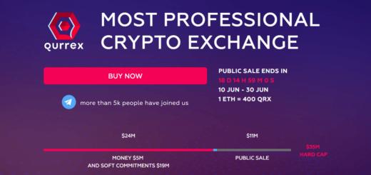 Qurrex ICO — первая гибридная криптобиржа