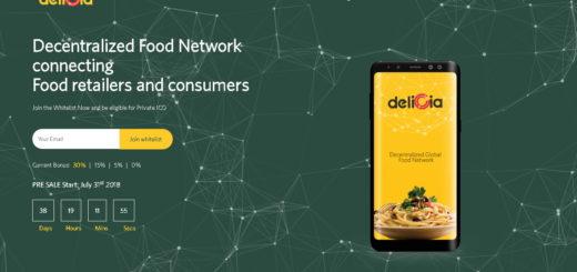 Обзор ICO Delicia: продовольственная сеть на блокчейне