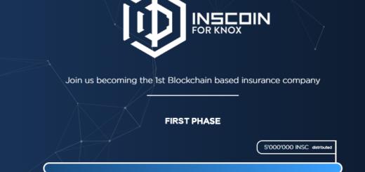 InsCoin ICO — страховая компания на блокчейне