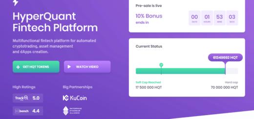 Обзор HyperQuant ICO — многофункциональная платформа для инвестиций
