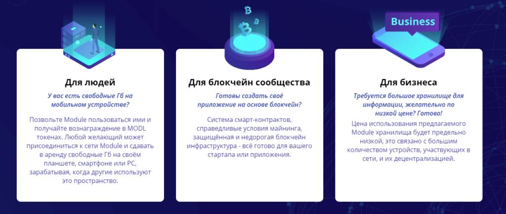 Пользователи Module