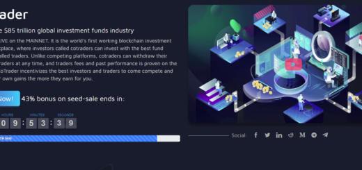 Обзор CoTrader ICO — платформа для управления инвестициями