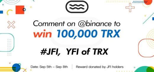 Оставь комментарий на @binance и выиграй 100,000 TRX